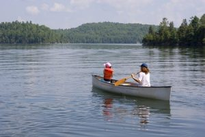 Canoeing is a great way to explore the waterways, get closer to nature and get fit at the same time.