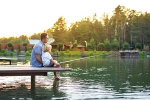 Fishing with Children in Ontario